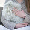 Alpaca Hot Water Bottle - Oyster