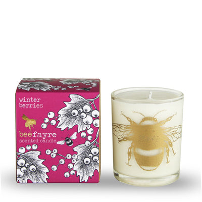 Winter Berries Scented Candle