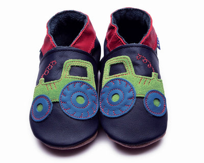 Baby Shoes - Tractor