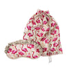 Flamingo Travel Bag and Eye Mask Set - annabeljames