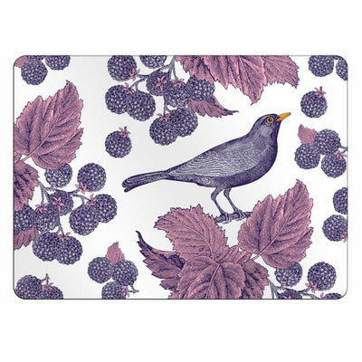 Blackbird and Bramble Placemats - annabeljames