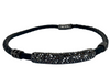 A Butler & Wilson Leather and Crystal Choker