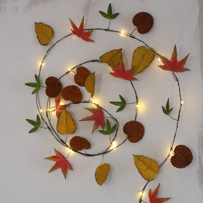 Autumn Leaves LED lights