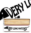 Dachshund Extra Long Matches Black - annabeljames