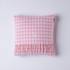 Gingham Cushion - Pink - annabeljames