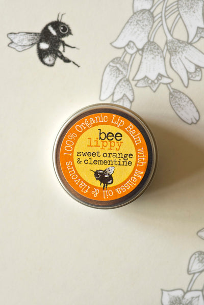 Lip Balm - Sweet Orange & Clementine - annabeljames