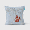 Bluebell and Red Squirrel Cushion - annabeljames