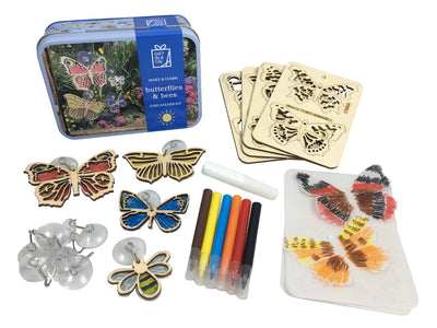 Bees and Butterflies Suncatcher Kit