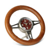 Classic Steering Wheel Desk Clock