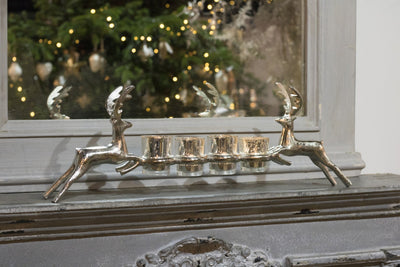 Leaping Stags Votive Holder