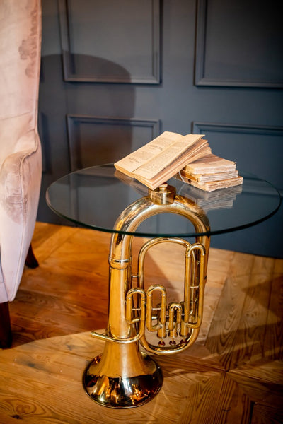 Tuba Side Table