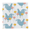 Chicken and Carnation Napkin Set - annabeljames