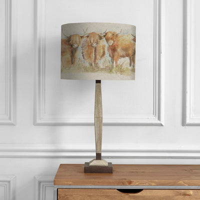 Highland Cattle Lampshade