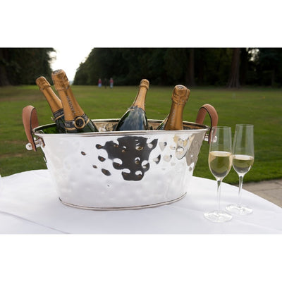 Champagne Bath, Silver-Plated, Large - annabeljames