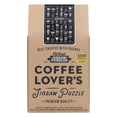 Coffee Lover's Jigsaw Puzzle - annabeljames
