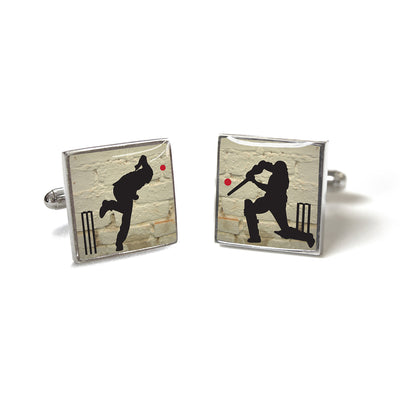 Cufflinks - Cricket - annabeljames