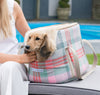 Dog Carrier Macaroon Check - annabeljames