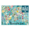 Flowers of the World Jigsaw Puzzle, 500 pieces