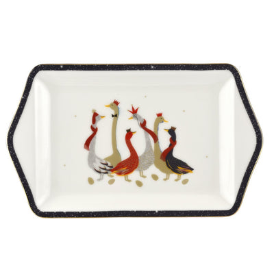 Geese Serving Plate