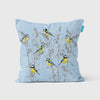Forget-me-knots and Blue Tit Cushion - annabeljames