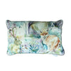 Fox and Hare Cushion