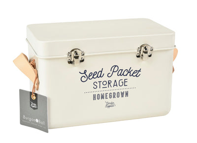 Seed Packet Storage Tin, Stone