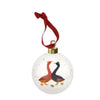 Festive Geese Bauble