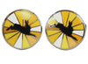 Cufflinks - Hare, Yellow Burst - annabeljames
