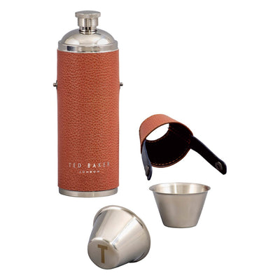 Ted Baker Hip Flask and Shot Cups
