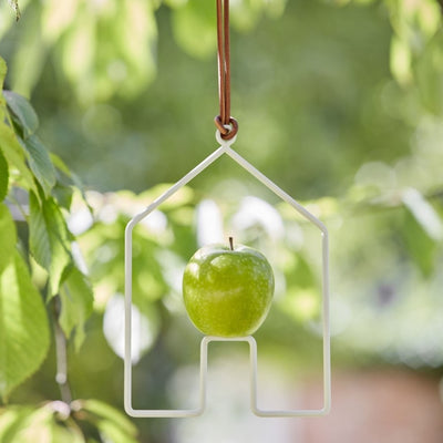 Apple Bird Feeder - House - annabeljames