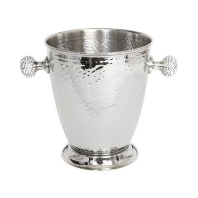 Ice Bucket with Crystal Handles - annabeljames
