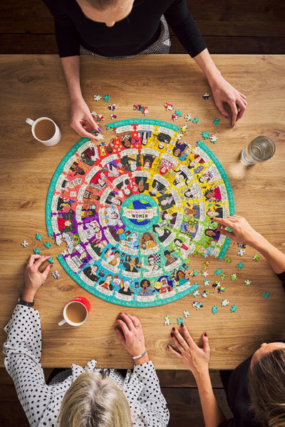 Inspirational Women Jigsaw Puzzle