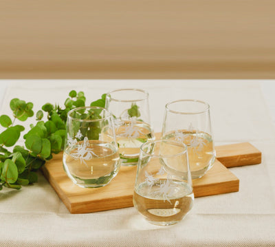 Bee Stemless Glasses