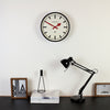 The Luggage Wall Clock - Black