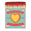 Luxury Matches - Love Heart - annabeljames