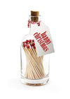 Matches Bottle - Happy Christmas