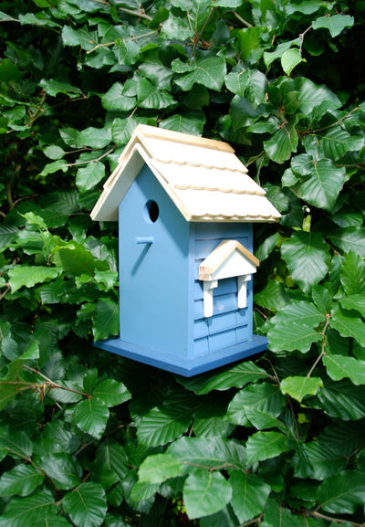 Bird House - Blue