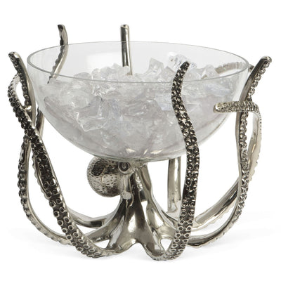 Octopus Stand and Glass Bowl - annabeljames