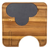 Elephant Cheese Board and knives - annabeljames