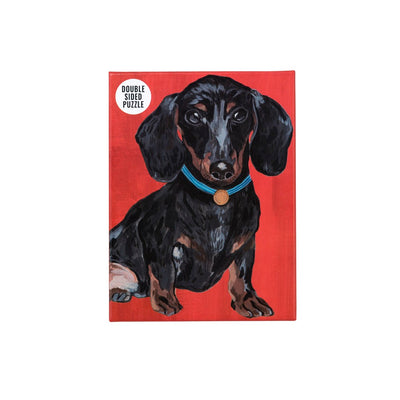 Double Sided Dachshund Jigsaw Puzzle