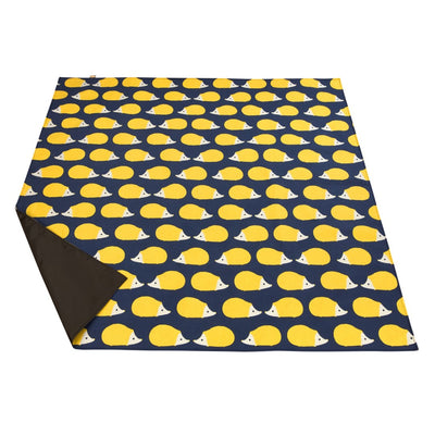 Kissing Hedgehogs Picnic Blanket - annabeljames