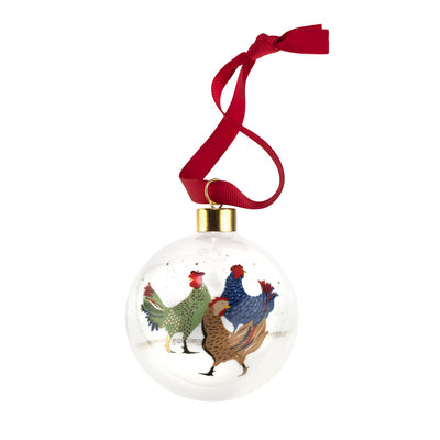 Three French Hens Bauble