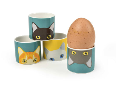 Cat Egg Cups - annabeljames