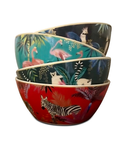 Small Bowls - Set of 4 Assorted, Tahiti Collection