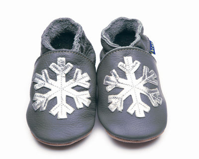 Baby Shoes - Snowflake