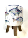 St. Ives Fish Footstool