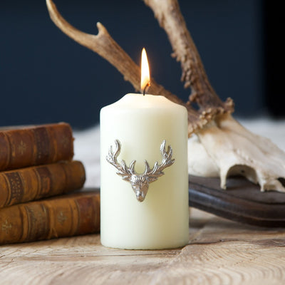 Stag Candle Pins - annabeljames