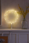 Starburst LED Wreath