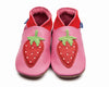 Strawberry Baby Shoes - annabeljames