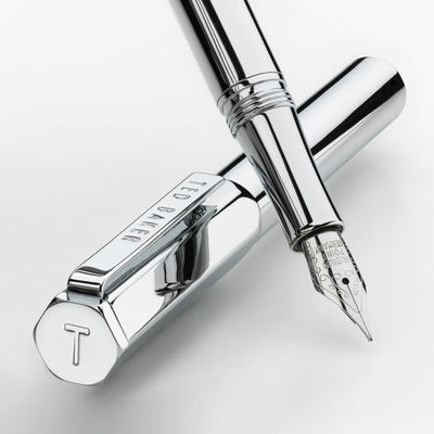 A Ted Baker Fountain Pen - Chrome - annabeljames